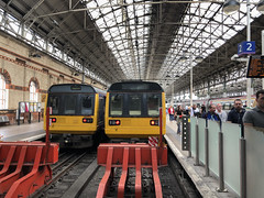 Pacers at Piccadilly (Mike Serigrapher) Tags: class 142 pacer dmu train manchester piccadilly railway station sarcastic