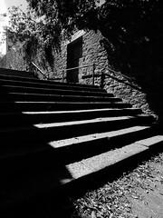 steps (chrisinplymouth) Tags: steps staircase stone black white monochrome plain urbio plymouth devon england uk city xg cw69x wideangle shadow contrast diagonal perspective explored inexplore cameo
