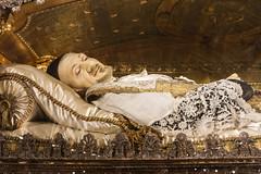 Saint Vincent de Paul (Lawrence OP) Tags: saints vincent vincentdepaul vincentians charity reliquary relic body paris