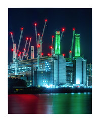 Battersea Power Station (Rich Walker Photography) Tags: london station night nightlights power nightshot nighttime battersea city longexposure chimney building tower architecture canon buildings landscape landscapes cityscape cityscapes riverthames longexposures landscapephotography longexposurephotography england eos evening efs1585mmisusm eos80d