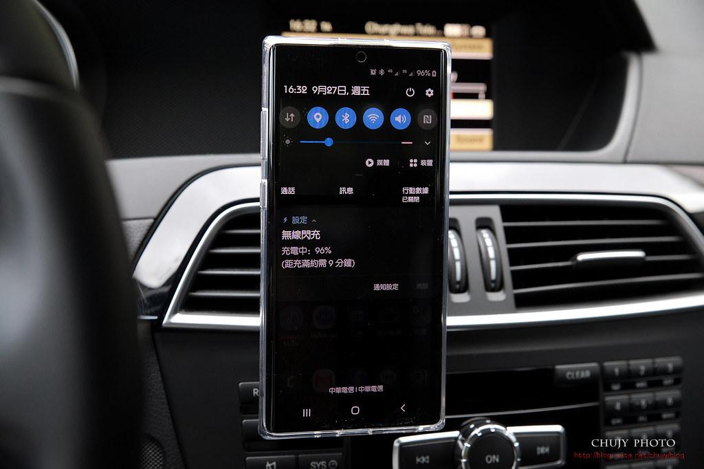 (chujy) Moshi SnapTo 磁吸無線充電手機車用支架,穩,快,充