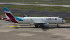Eurowings D-AEWQ Airbus A320-214 flight EW9130 departure from Dusseldorf DUS Germany bound for Kos KGS Greece (Cupertino 707) Tags: eurowings daewq airbus a320214 flight ew9130 departure from dusseldorf dus germany bound for kos kgs greece