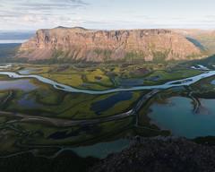 Sarek X (Gustaf_E) Tags: jokkmokk landscape landskap lappland morgon nationalpark norrland rapadalen sarek skierffe sommar sverige sweden tjahkelij