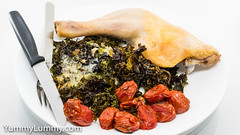 MEATER™ chicken, with creamy kale (garydlum) Tags: butter chicken cream kale meater canberra australiancapitalterritory australia