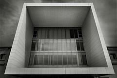 AYUNTAMIENTO DE ZARAGOZA (a-r-g-u-s) Tags: geometria cubico arquitectura ayuntamiento zaragoza ventana window geometry ayuntamientodezaragoza