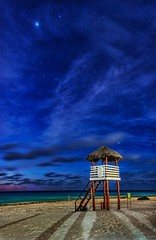 the station on the sand, under the stars (simplymr.holz) Tags: pentaxlife pentaxart stars beach sunrise mexico k3 pentax