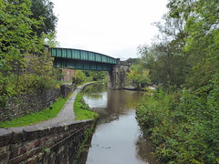 Engineers Wharf, Marple.      (Peak Forest Canal)   September 2019 (dave_attrill) Tags: engineerswharf bridge marple peakforest canal towpath peakdistrict nationalpark cheshire cheshirering oldknow september 2019 thomastelford