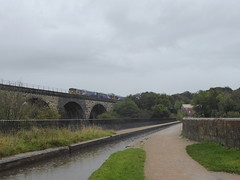 Marple Aqueduct   (Peak Forest Canal)   September 2019 (dave_attrill) Tags: aqueduct bridge train viaduct marple peakforest canal towpath peakdistrict nationalpark cheshire cheshirering oldknow september 2019 thomastelford