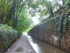 Rose Hill Cutting, Marple    (Peak Forest Canal)   September 2019 (dave_attrill) Tags: rosehill cutting formertunnel marple peakforest canal towpath peakdistrict nationalpark cheshire cheshirering oldknow september 2019 thomastelford