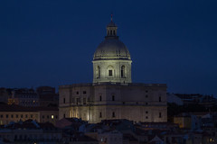 National Pantheon (Hawkeye2011) Tags: 2019 europe lisbon portugal nightphotography buildings architecture church cathedral nationalpantheon