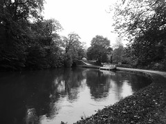 Bottom Lock , Marple   (Peak Forest Canal)   September 2019 (dave_attrill) Tags: bottomlock barge marple peakforest canal towpath peakdistrict nationalpark cheshire cheshirering oldknow september 2019 thomastelford blackwhite