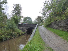Bottom Lock Bridge, Marple.      (Peak Forest Canal)   September 2019 (dave_attrill) Tags: bridge bottomlock marple peakforest canal towpath peakdistrict nationalpark cheshire cheshirering oldknow september 2019 thomastelford