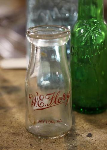 W.E. Flory Dayton, VA milk bottle ($44.80)