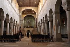 Innenraum, Stiftskirche St. Servatii, Quedlinburg (julia_HalleFotoFan) Tags: quedlinburg harz sachsenanhalt stiftskirche romanik strasederromanik stiftskirchestservatii unescowelterbe
