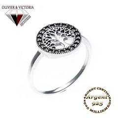 Bague arbre de vie en argent 925 (olivier_victoria) Tags: argent 925 bague arbre vie de rhodié