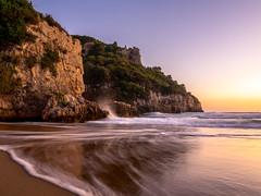 Spiaggia dell'Ariana Sunset a Gaeta (Maarten Takens) Tags: gaeta italia latium sunset spiaggiadellariana allab allaboutilaian retreat