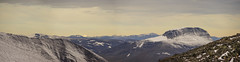 DSC06143-ViewBackToLiddubakkti_the_wall_from_Keb (RobNDub) Tags: arctic sweden kungsleden padjelantaleden sarek 2019 hiking free wild camping ultralight landscape photography aurora borealis summit skierffe stf hut