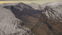 DSC06121-ViewDownThroughTheGap_Vierranvarri_Kebnekaise (RobNDub) Tags: arctic sweden kungsleden padjelantaleden sarek 2019 hiking free wild camping ultralight landscape photography aurora borealis summit skierffe stf hut