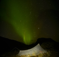 DSC05940-YamaTarpAndAurora_Pleiades (RobNDub) Tags: arctic sweden kungsleden padjelantaleden sarek 2019 hiking free wild camping ultralight landscape photography aurora borealis summit skierffe stf hut jierttajavri