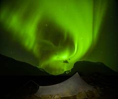 DSC05940-YamaTarp_AuroraSwirl_bright_Pleiades (RobNDub) Tags: sweden hiking arctic sarek 2019 kungsleden padjelantaleden camping wild landscape photography free aurora summit ultralight borealis stf skierffe hut jierttajavri