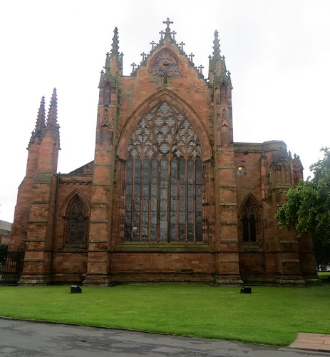 Cathédrale de la Sainte Trinité, (XIIe-XIIIe), Carlisle, Cumbria, Angleterre, Royaume-Uni
