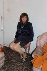 resting the legs (tvcathyuk) Tags: transvestite tv tvcd tgurl transvestites crossdress cd crossdresser t