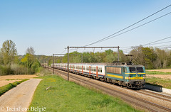 NMBS 2725 's Herenelderen (TreinFoto België) Tags: hoeselt sherenelderen nmbs sncb 27 2725 bxl brussels bruxelles brusselzuid l34 belgie belgien belgique belgium
