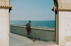 R5-01146-018A (osangster) Tags: photography portra spain coastline colourfilm kodak 35mmfilm 35mm 55mm barcelona travel skateboarding