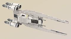 UCS UT-60D U-Wing (Mr_Idler) Tags: lego starwars moc rogueone uwing ucs