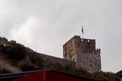 Moorish Castle From Below (Piedmont Fossil) Tags: gibraltar moorish castle medieval fort