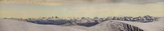 DSC06149-ViewNWFromKeb_pano (RobNDub) Tags: arctic sweden kungsleden padjelantaleden sarek 2019 hiking free wild camping ultralight landscape photography aurora borealis summit skierffe stf hut