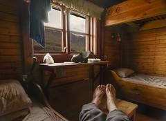DSC06077-RelaxingInKebnekaiseOldDorm (RobNDub) Tags: arctic sweden kungsleden padjelantaleden sarek 2019 hiking free wild camping ultralight landscape photography aurora borealis summit skierffe stf hut kebnekaise