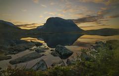 DSC06001-Jierttajavri_sunrise_lake_shore (RobNDub) Tags: arctic sweden kungsleden padjelantaleden sarek 2019 hiking free wild camping ultralight landscape photography aurora borealis summit skierffe stf hut
