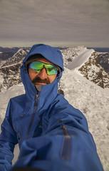 DSC06236-OnTopOfKeb_ViewToNordtoppen (RobNDub) Tags: arctic sweden kungsleden padjelantaleden sarek 2019 hiking free wild camping ultralight landscape photography aurora borealis summit skierffe stf hut