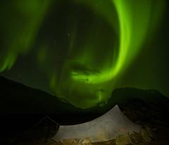 DSC05940-YamaTarp_AuroraSwirl_Pleiades (RobNDub) Tags: camping wild sweden hiking free arctic ultralight sarek 2019 kungsleden padjelantaleden landscape photography hut aurora summit borealis stf skierffe jierttajavri