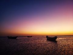 (Julia C. F) Tags: dusk sky seascapes brazil jericoacoara beach boat sunset twilight