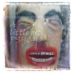 A little bit psycho (sigi-sunshine) Tags: psycho alittlebitpsycho sweetbutpsycho anitques antiquariat face grimace grimasse fratze thriller gruselig psychedelic psychedelisch kopf head mumie mummy schädel rotelippen scary horror nighmare albtraum