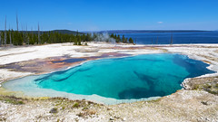 Abyss (ValeTer_) Tags: body water geology turquoise azure mineral spring crater lake lagoon vacation national park nikon d7500 usa wy wyoming yellowstone nps landscape nikond7500 nature nationalpark yellowstonenationalpark