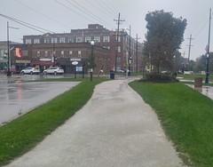(sfrikken) Tags: villa park illinois dupage county bicycle rain prairie path bike factory ovaltine