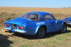 GC9_8966 (ladythorpe2) Tags: renault alpine a110 gueux legende historic meeting 15th september 2019 france blue rally car motorsport