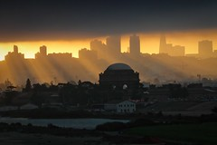 Seasons Change (Andrew Louie Photography) Tags: rays morning golden sunrise sanfrancisco andrew palace fine arts marina green crissy fields bay louie photography