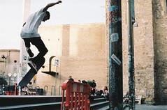 R6-01147-011A (osangster) Tags: photography portra spain coastline colourfilm kodak 35mmfilm 35mm 55mm barcelona travel skateboarding
