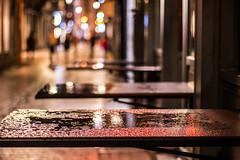 Rue du Pot d'Or (Liège 2019) (LiveFromLiege) Tags: potdor carré reflet reflection rue du pot dor pluie liège luik wallonie belgique architecture liege lüttich liegi lieja belgium europe city visitezliège visitliege urban belgien belgie belgio リエージュ льеж table humide