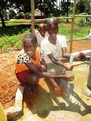 Thank you for this gift of life-saving water! (W4KI) Tags: w4ki water safe clean h4ki restore hope 4pillarsofhope dignityhealthjoylove dignity health joy love transform village community uganda buyodi c