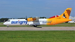 G-LERE (AnDyMHoLdEn) Tags: aurigny atr egcc airport manchester manchesterairport 23l