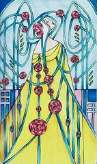 Art nouveau princess. Markers on paper (michailovaster) Tags: открытка постер рисунок копик иллюстрация маркер contos decorate copicmarker арнуво ар—нуво artnouveau handdrawing drawing colorful illustration ilustração fairytale art nouveau colorfull poster postcard princess princesa
