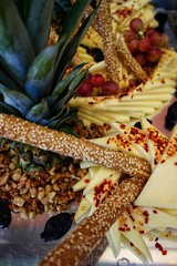 Cheese (STEHOUWER AND RECIO) Tags: food eten emmental cheese emmentaler kaas delicious yummy fresh arrangement red grapes druiven geel yellow foody greece yum dinner lunch breakfast tasty delish eating foodpic eat hungry cold foodie dining allinclusive holiday vacation eatallyoucan green brown enjoy