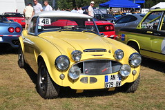 GC9_8970 (ladythorpe2) Tags: renault alpine a110 gueux legende historic meeting 15th september 2019 austin healey 3000 yellow france rally catr motorsport
