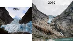 briksdalsbreen (alpenbild.de) Tags: gletscher glacier norway norwegen norge klimawandel climatechange lake see eis ice
