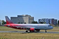 (CDG) Rossiya Airbus A320-214  VP-BZQ Taxiing to runway 09R (dadie92) Tags: cdg roissy lfpg rossiya airbus a320 a320214 vpbzq airplane aircraft taxiing spotting runway09r adp nikon d7100 sigma tamron danieldanel